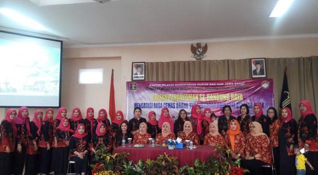 Rupbasan Bandung Gelar Arisan DWP Pengayoman se-Bandung Raya