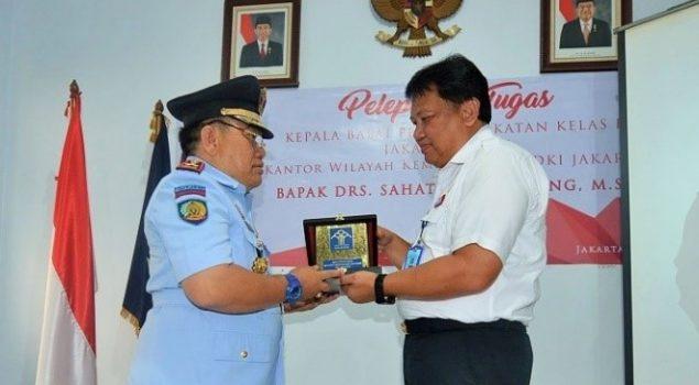 Pelepasan Kepala Bapas Kelas I Jakarta Barat