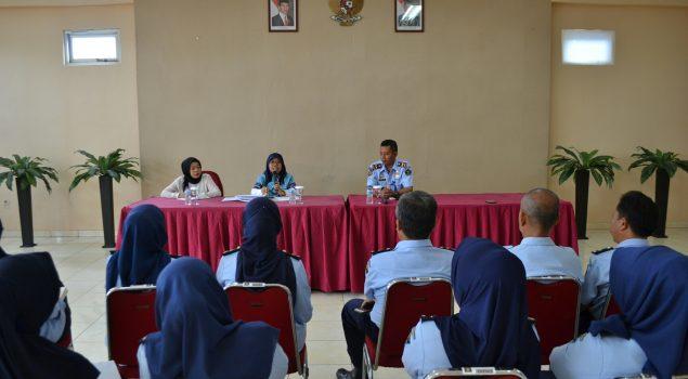Rupbasan Bandung Terima Kunjungan BPKP Pusat