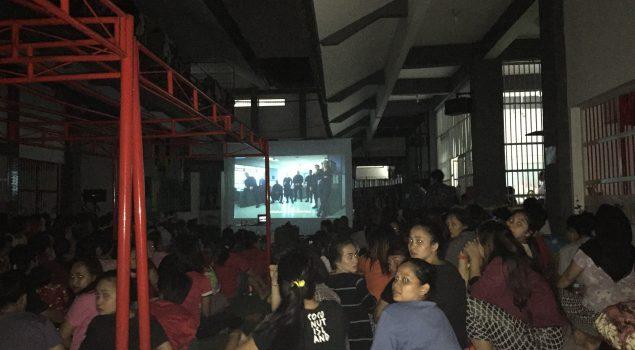 Serunya Nobar di LPP Jakarta