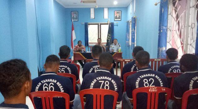 Tim Bapas Manokwari Lakukan Monev ke Pos Bapas Teluk Bintuni