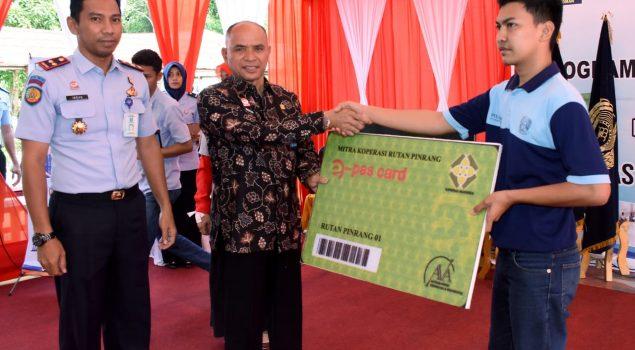 Peluncuran E-Pass Card Cegah Pungli di Rutan Pinrang