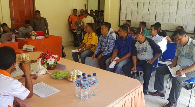 Perwakilan Lapas Piru Hadiri Rapat Pleno KPU Kab. Seram Bagian Barat