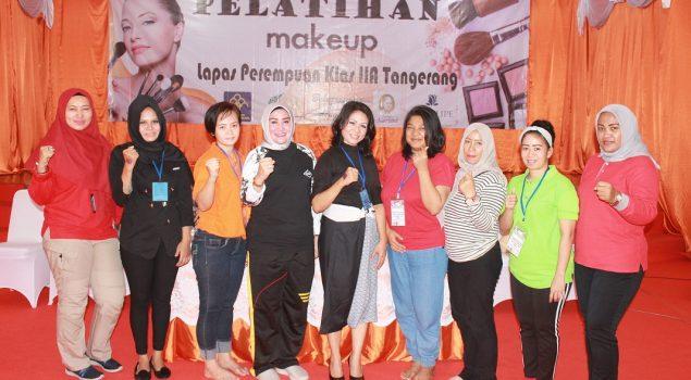 20 WBP LPP Tangerang Belajar Make Up Artist