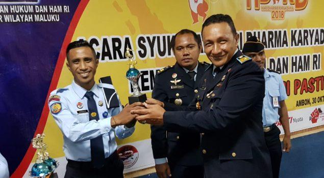 Puncak HDKD 2018, LPKA Ambon Boyong Tiga Piala