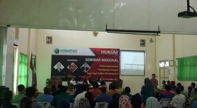 Petugas Bapas Pati Hadiri Seminar Nasional di Universitas Wahid Hasyim Semarang