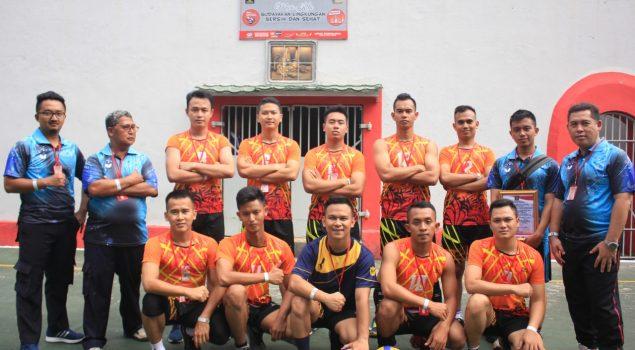 Kontingen Olahraga Lapas Cikarang Berjaya di Purwakarta