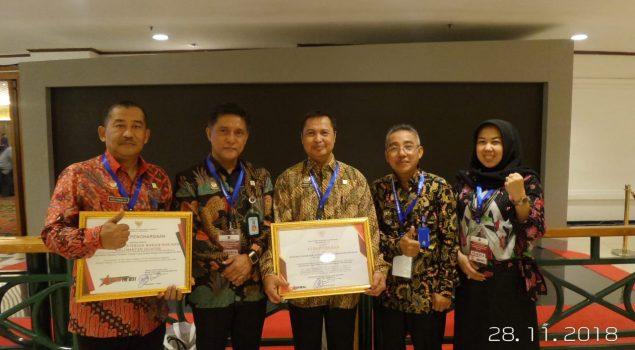 Kanwil Kalsel Raih 2 Penghargaan dari Menkumham