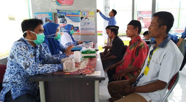 Lapas Gunung Sugih Fasilitasi Pemeriksaan Kesehatan bagi WBP & Masyarakat