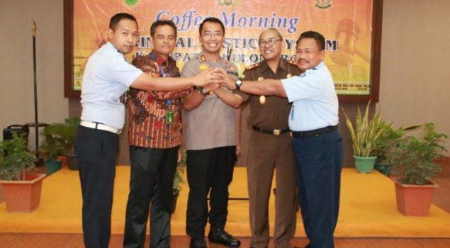 Rutan Wates Tingkatkan Koordinasi dengan Polres Kulonprogo