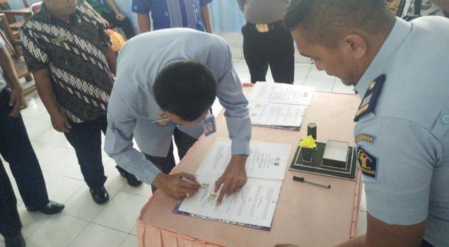 Rutan Majene Kerjasama Peningkatan Keamanan dengan BNN dan Polres Majene