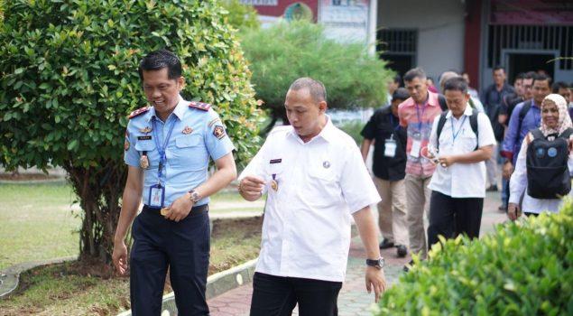 25 Peserta Pelatihan BNN dan UNODC Berkunjung ke Lapas Narkotika Bandar Lampung