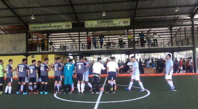 Tim Antrabez Lolos ke Perempat Final Turnamen Futsal se-Bali