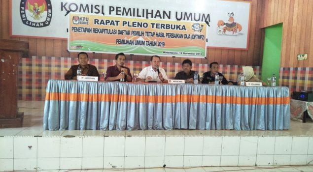 Perwakilan Lapas Watampone Hadiri Rapat Pleno KPU