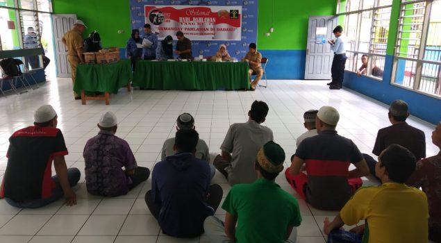 WBP Rutan Rantau Jalani Skrinning AIDS