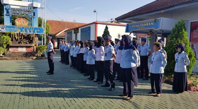 Kalapas Sragen Apresiasi Kinerja Jajarannya Sepanjang 2018