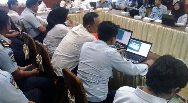 Penyusun Laporan Keuangan Rutan Batang Ikuti Pra-Rekonsiliasi Semester II TA 2018