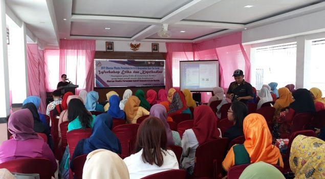 Kejutan Warnai Peringatan HUT DWP Kanwil Banten di Rutan Pandeglang