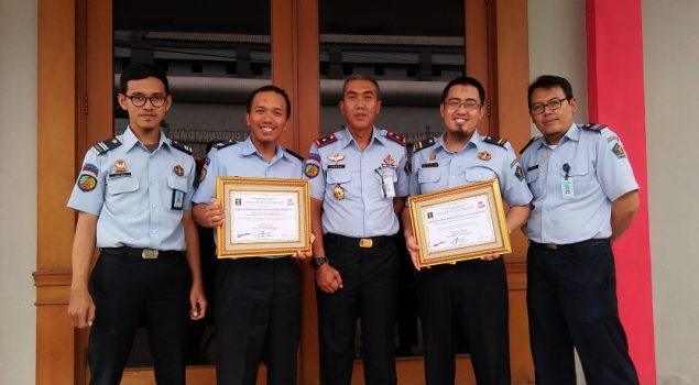 Rupbasan Jakpus Raih Double Winner Penghargaan Kinerja 2018