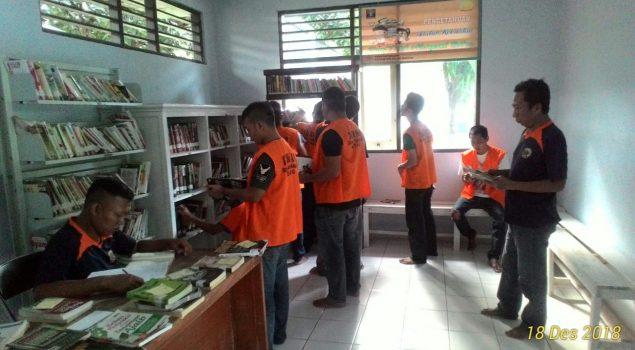 Tingkatkan Minat Baca WBP, Rutan Batang Tata Ulang Perpustakaan