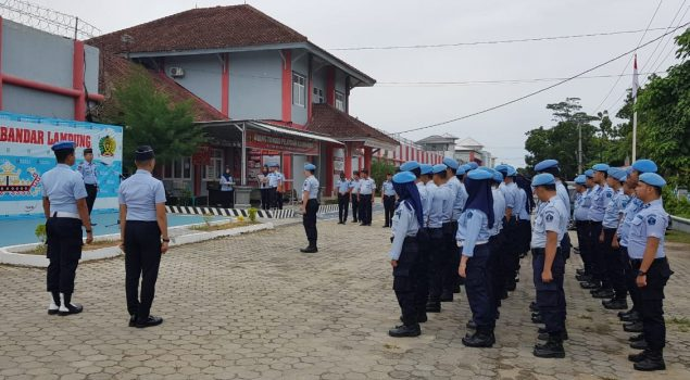 Apel Siaga Pastikan Keamanan di Rutan Bandar Lampung