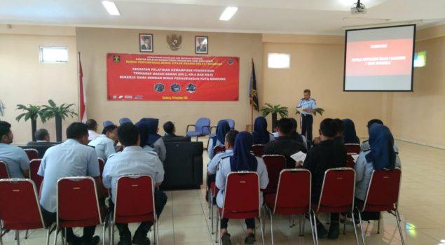 Rupbasan Bandung Gelar Pelatihan Penaksiran Nilai & Mutu Basan Baran