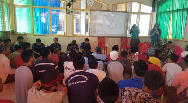 Rutan Bantaeng Beri Penyuluhan Penyakit HIV/AIDS, TBC, dan Kusta Kepada WBP