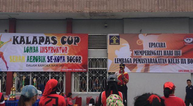 "Salurkan Bakat Aerobik, Lapas Bogor Gelar ""Kalapas Cup"""