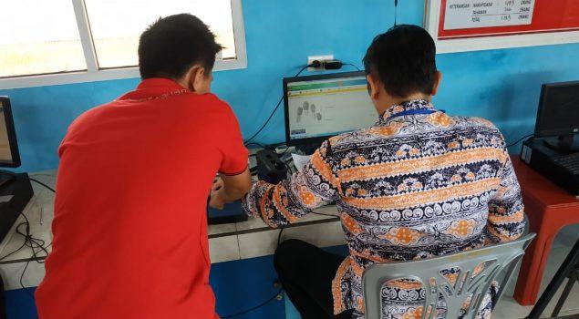 Rekam e-KTP WBP, Rutan Lampung Undang Disdukcapil