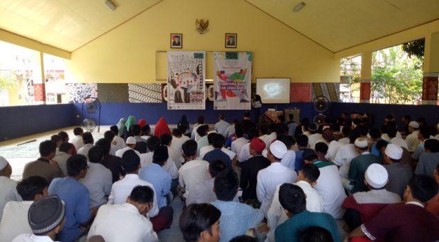 Workshop Literatur Isi Liburan Anak LPKA Tangerang