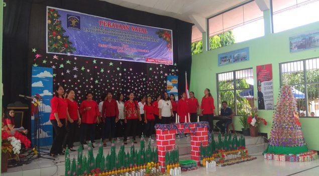 LPP Ambon Gelar Natal Bersama Lapas Ambon