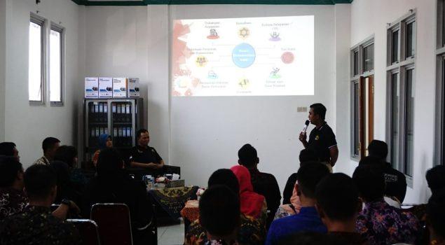 Wujudkan WBK, Tim Pokja LPN Jakarta Berguru ke Lapas Cibinong