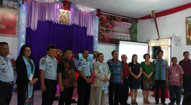 Perayaan Natal di Rutan Manado Dimeriahkan Drama WBP