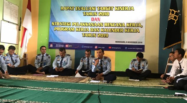 LPKA Yogyakarta Evaluasi Kinerja 2018 & Bahas Rencana Kerja 2019