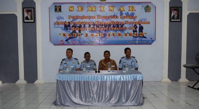 Rutan Purworejo Gelar Seminar Peningkatan Kapasitas Petugas Kemandirian