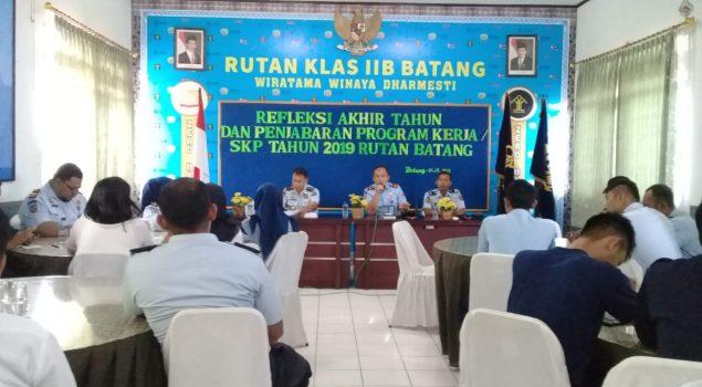 Rutan Batang Optimis Raih WBK/WBBM Tahun 2019