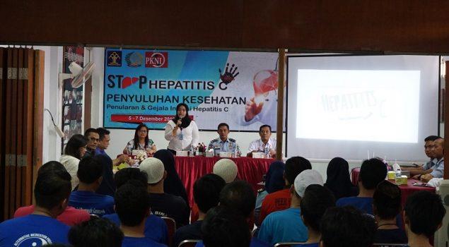 Lapas Narkotika Jakarta Jadi Piloting Penyuluhan Hepatitis C Bagi WBP