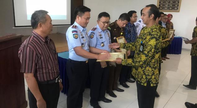 Rutan Kotabumi Raih Predikat Terbaik II Satker KPPN Lampung Utara