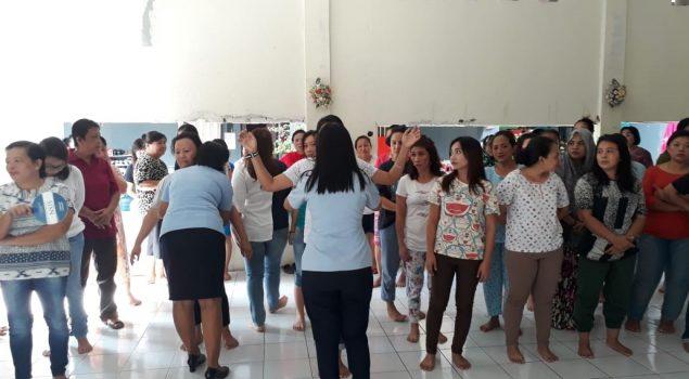 Satgas Kamtib Rutan Manado Sidak Blok WBP Perempuan