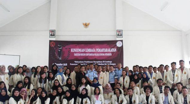 Lapas Pemuda Madiun Kedatangan Mahasiswa FH Wijaya Kusuma Surabaya