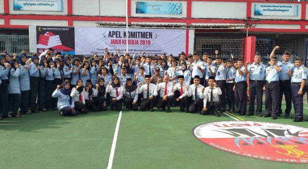 Rupbasan Surakarta Deklarasikan Kinerja 2019 Bersama Rutan & Bapas Surakarta