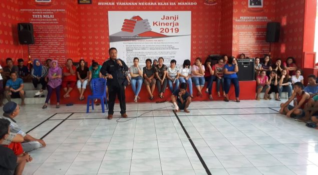 Kepala KPR Manado Tekankan Kembali Hak & Kewajiban WBP