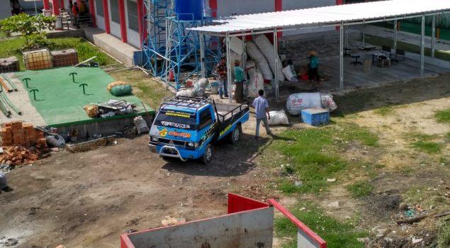 """""""Rumah Sampah"""" Rutan Lampung Dukung Go Green"""