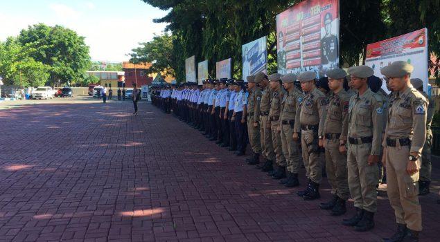 Personel Rutan Bantaeng Hadiri HUT Satpam ke-38