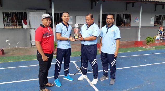 WBP Antusias Sambut Rutan Futsal League 2019 ke-3