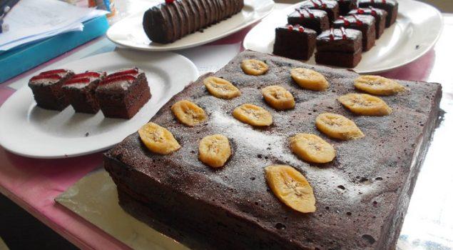 WBP LPP Lampung Belajar Buat Kue Brownies
