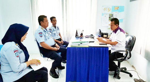 Cegah DBD, Kalapas Watampone Koordinasi Permintaan Fogging di Lapas