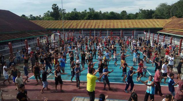 Lapas Watampone Perkenalkan Senam Lansia