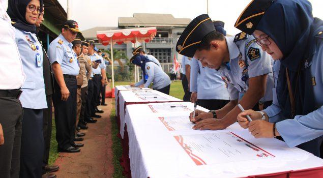 9 UPT PAS Wilayah DKI Jakarta Deklarasikan Janji Kinerja 2019