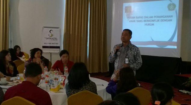 "Kabapas Pati Jadi Pembicara dalam ""Child Protection Training"""